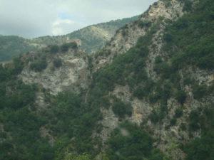 klooster in de bergen