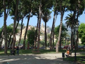 Palmenpark in Ventigmiglia
