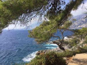 uitzicht kust huisje italie